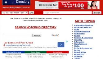 Australian Motoring Directory