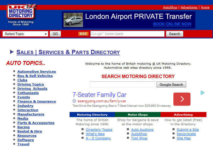 Car spare parts online wreckers
